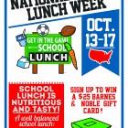National School Lunch Week 2014
